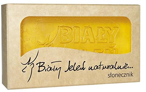 BIALY JELEN - Hypoallergenic glycerin soap with sunflower extract - 100g
