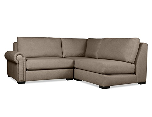 South Cone Home CHLS AR5 BROWN Chelsea Modular Sectional Brown