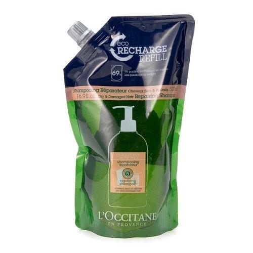 L'Occitane - Champú reparador de aromatería con 5 aceites esenciales, Champú, Refill - 16.9 fl. oz