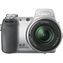 Sony Cybershot DSC-H2 6MP Digital Camera with 12x Optical Image Stabilization Zoom (OLD MODEL)