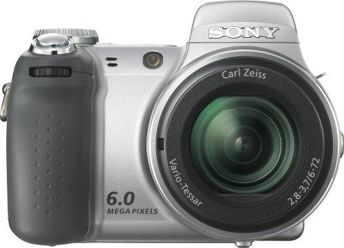 Sony Cybershot DSC-H2 6MP Digital Camera with 12x Optical Image Stabilization Zoom (OLD MODEL)