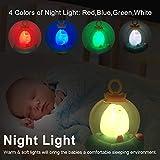 MARUMINE Baby Musical Crib Mobile with Night Light