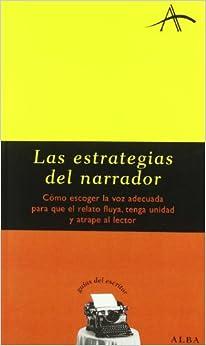 Book Estrategias del narrador
