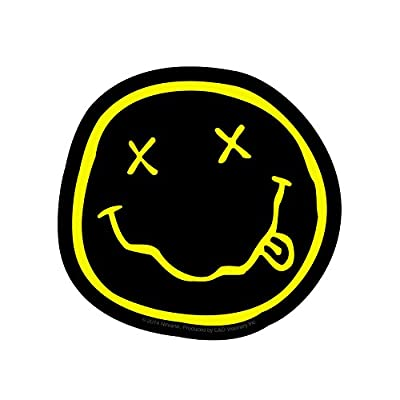 C&D Visionary Licenses Products Nirvana Smiley Sticker: Toys & Games