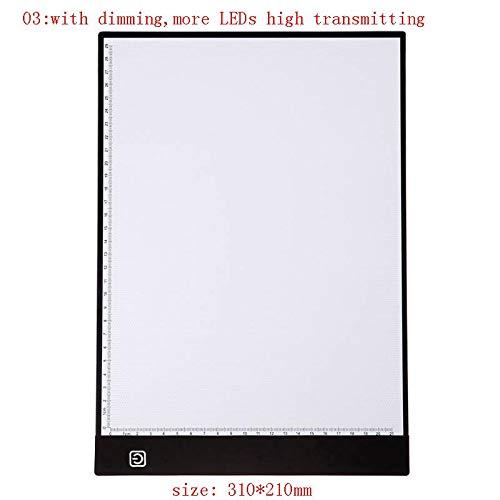 (Diamond Painting - Usb Thin A4 Led Art Copy Board Portable Draw Pad Table Write Light Artcraft Digital Tablets Diamond - Hummingbird Pig Virgin Lights Magnifier Van Retriever Egoodn Bead Of)