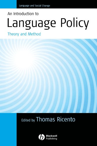 An Introduction to Language Policy: Theory and Method by Brand: Wiley-Blackwell