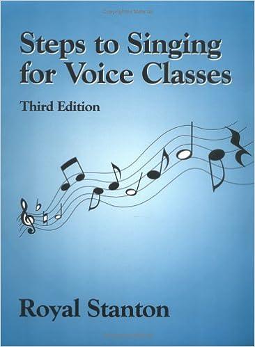 Ebooks pdf ilmainen lataus deutsch Steps to Singing for Voice Classes, Third Edition 1577661354 PDF DJVU by Royal Stanton