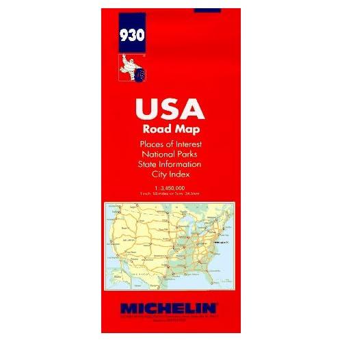 MICHELIN 930 VERENIGDE STATEN (Michelin Maps)