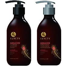 Luseta Beauty Keratin Smooth Shampoo, 17.5 Ounce