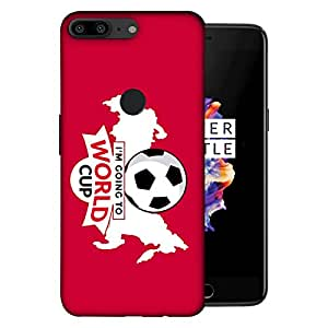 ColorKing OnePlus 5T Football Pink Case shell cover - Fifa Cup 12