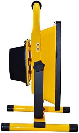 50/W Foco LED L/ámpara Trabajo con Bater/ía fr/ía Color Blanco Amarillo Fina Dise/ño Mano l/ámpara foco luz port/átil recargables IP65/50/W Blanco Fr/ío