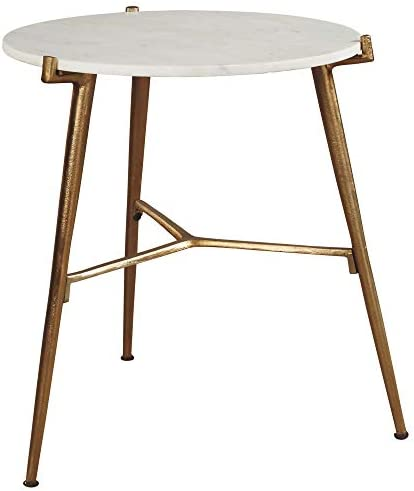 Signature Design Round Coffee Table