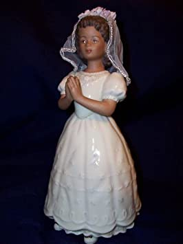 Lenox Sandra Kuck First Communion Girl Ebony Girl