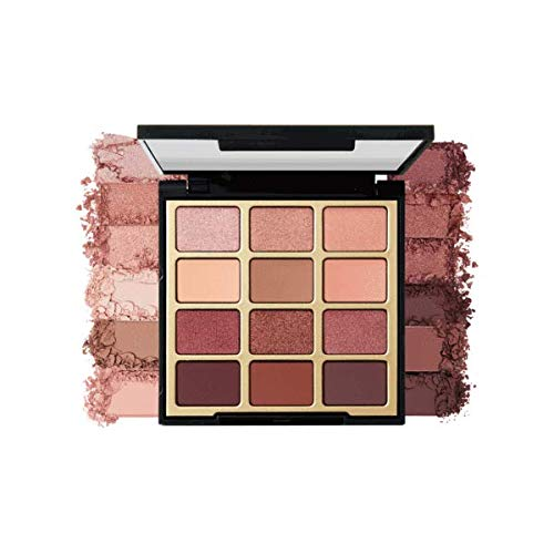 Milani Pure Passion Eyeshadow Palette (0.48 Ounce) 12 Cruelty-Free Warm Matte & Metallic Eyeshadow Colors for Long-Lasting Wear