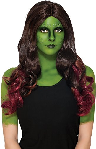 Rubie's Costume Co. Women's Guardians of The Galaxy Gamora Costume, As Shown, Wig -