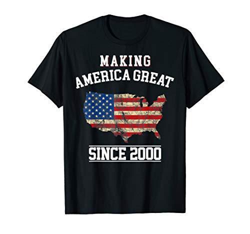 happy 2000 it's my 19th years old birthday gift ideas tshirt