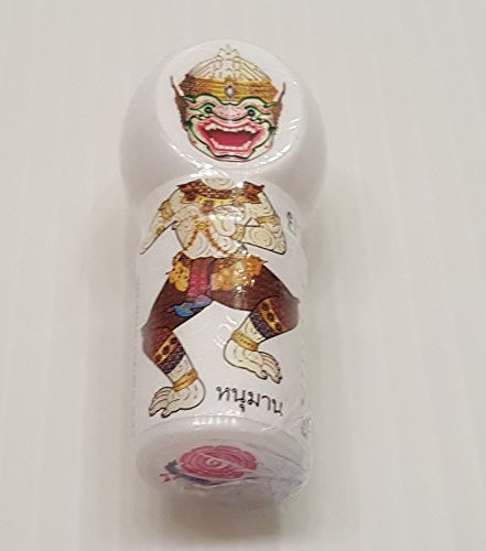 THAI HERBAL INHALER TUBE RAMAYANA CHIEF MONKEY MODEL(HA-NU-MAN) FOR INHALATION AROMA OF NATURAL HERBALS FOR RELAXATION AND REFRESHMENT 2 - Model Men Pic