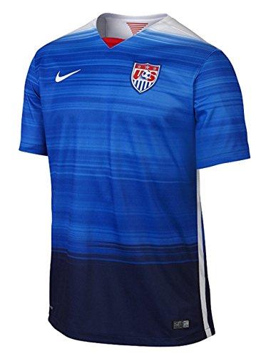 Nike USA Stadium Away Jersey (GAME ROYAL/LOYAL BLUE/FOOTBALL WHITE/FOOTBALL WHITE) ()