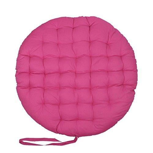 Christmas Gift Pink Papasan Round Lounge Chair Seat Cushion Pillow For Maximum Comfort 36 Diameter 5ive Dollar Market