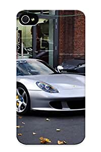 Iphone 4/4s Case Cover - Slim Fit Tpu Protector Shock Absorbent Case (porsche & Lamborghini )
