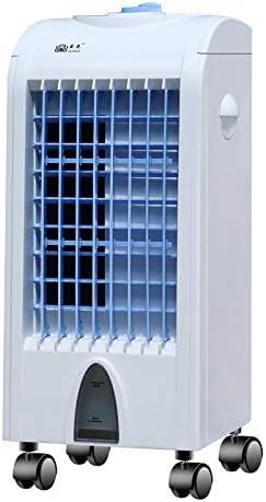 YCCG Ventilador de Hielo portátil para Enfriador de Aire, Mini refrigerador de Aire por evaporación Personal Humidificador purificador de Ventilador de enfriamiento de Escritorio pequeño: Amazon.es: Deportes y aire libre