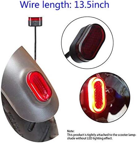 Naliovker Elektrische R/ückleuchten f/ür Scooter Motorroller f/ür Mijia M365