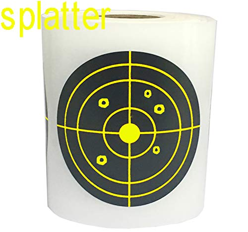 (Remarkable Splatter Targets Stickers | Rated Self Adhesive Shooting Targets(3