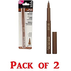 Milani Brow Tint Pen, 01 Natural Taupe (Pack of 2)