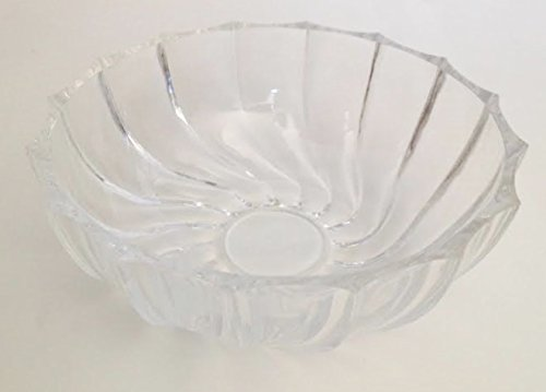 (Vintage Fostoria Clear Glass Nappy Fruit Bowl (Pattern Discontinued))
