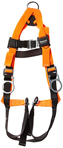 (Miller Titan by Honeywell TF4007/UAK Polyester T-Flex Stretchable Harness, Universal)