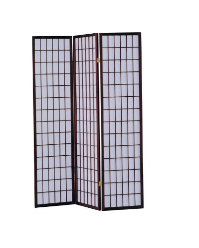 acme-02277-naomi-3-panel-wooden-screen-cherry-finish