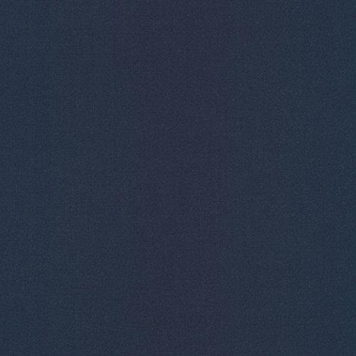 Robert Kaufman Perfecto Poplin Mediums Navy Fabric by The Yard ()
