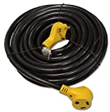 EnergyPlug 50 Foot RV Extension Cord 30 Amp Power Supply Cable for Trailer Camper Motorhome