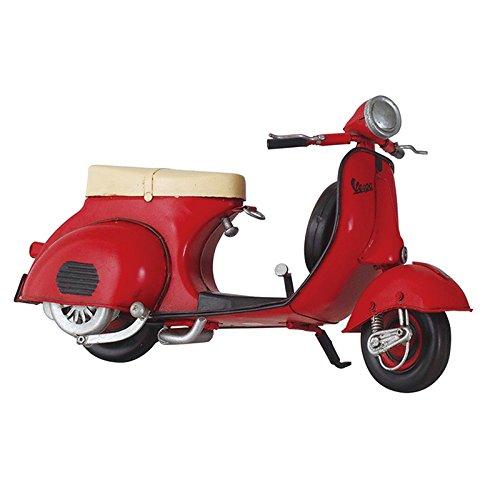 ブリキのおもちゃ B-バイク07 アンティーク レトロ 車 クルマ ビンテージ オートバイ ベスパ VESPA オールドスクーター P90 P200 PX ET3 B079VB9K1Q バイク07 バイク07