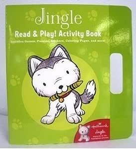 Hallmark Christmas KOB1074 Jingle Read and Play! Activity