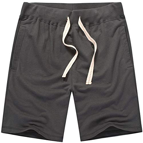 Amy Coulee Men's Casual Classic Short (M, Anchor Gray)
