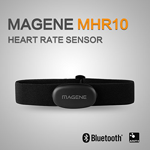 MAGENE Heart Rate Monitor for iPhone & Android (Support ANT+ & Bluetooth)