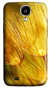 Golden fluff Polycarbonate Hard Case Cover for Samsung Galaxy S4/Samsung Galaxy I9500 3D