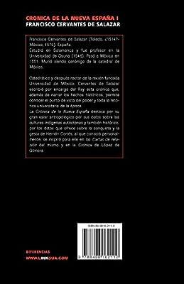 Crónica de la Nueva España (Diferencias): Amazon.es: Cervantes de Salazar, Francisco: Libros