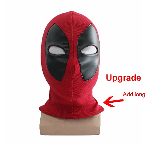 The Best Deadpool Costume - Rulercosplay Deadpool Cosplay Headwear Red Halloween Cosplay Mask