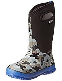 Bogs Kids Classic Camo Waterproof Winter & Rain Boot (Toddler/Little Kid/Big Kid)