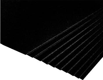 Pinnacle A2 Black - Black Core Mount Board 1250mic - 3 Packs of 10 Sheets