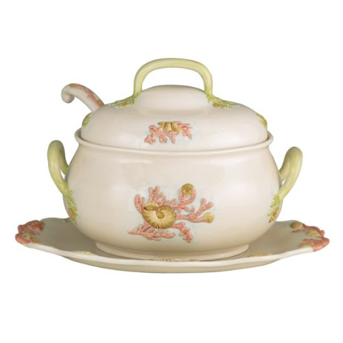 J. Willfred Sea Life 4 Piece Tureen Set for sale  Delivered anywhere in USA