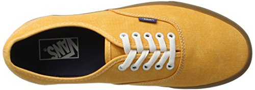Canvas Homme Authentic Vans Ua Jaune washed Sneakers Basses BUSWgqW6w