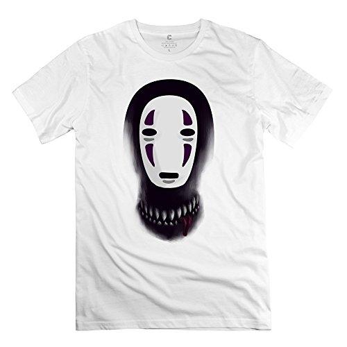 MKSD Funny Spirited Away No Face Faceless Design T-shirt For Men