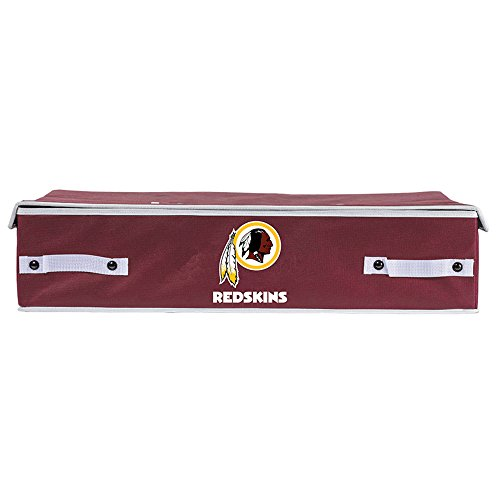 Franklin Sports NFL Washington Redskins Under The Bed Storage Bins - Small ()