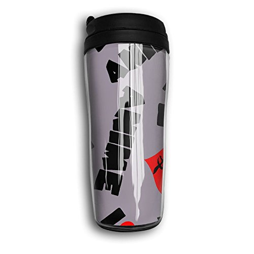 I Love Anime In Japanese Lightweight Curved Coffee Cups Vacuum Insulated Mug With Splash Proof Lid by Sd5l Mugs
