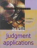 Audit Judgment Applications 9780324008869