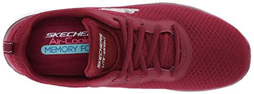 Appeal 0 Newsmaker Skechers 2 Burgundy Sneaker Women's Flex Sx11BEwAq