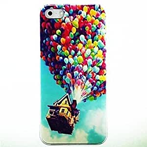 SHOUJIKE Colorful Balloons Pattern PC Hard Case Frame for iPhone 5/5S